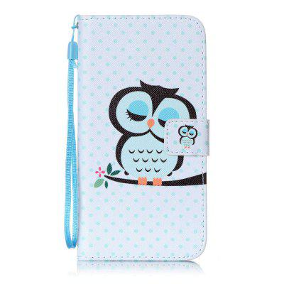 Owl Pattern PU Leather Flip Wallet Case for iPhone 7 Plus / 8 Plus
