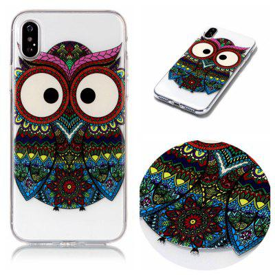 Owl Soft TPU Silicone Case Cover for iPhone X