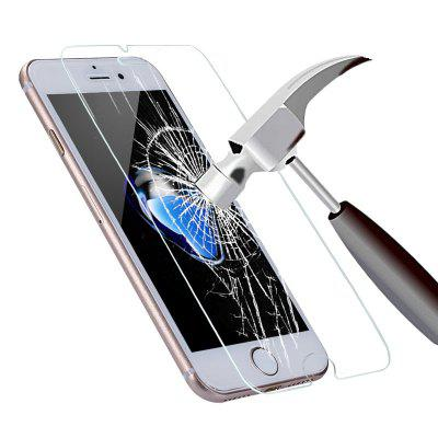 Buy TRANSPARENT HD Transparent Tempered Glass Screen Protector Film for iPhone 7 / 8 for $1.83 in GearBest store