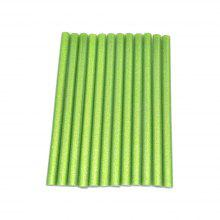 10pcs Green Color Star 11 x 180MM Hot Melt Glue Sticks 11MM DIY Bright Color Multi Repair Tool