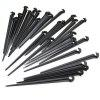 23M Hose 10 Drippers Plant Watering Kits Garden Eqiupment DIY Micro Drip Irrigation System Automatic Gardening - BLACK