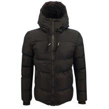 Winter Men'S Thick Warm Casual Windproof Hooded Coat