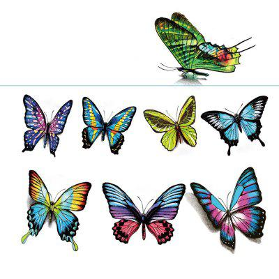 AR Creative Butterfly Style Waterproof Tattoo Stickers
