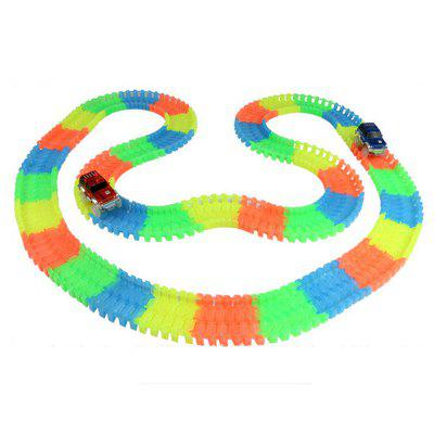 Glowing Racing Set for Kids - Super FunClassic Toys<br>Glowing Racing Set for Kids - Super Fun<br><br>Appliable Crowd: Unisex<br>Materials: Plastic<br>Nature: Other<br>Package Contents: 1 x Track Toy , 1 x Fun Racing Guide<br>Package size: 22.50 x 22.00 x 8.50 cm / 8.86 x 8.66 x 3.35 inches<br>Package weight: 0.7400 kg