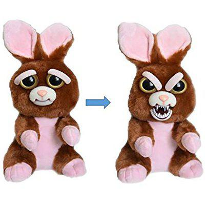 Feisty Funny Expression Pets Plush Toy  -  BROWNIE