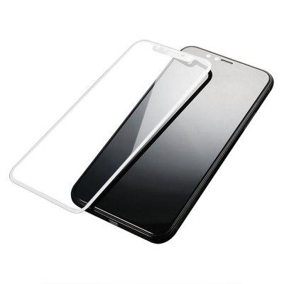 0.3mm 9H 3D Full Cover for iPhone X Curved Soft Edge Carbon Fiber Screen Protector Film Ultra Thin Tempered Glass