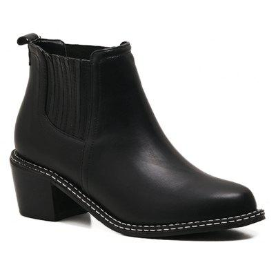Lady's High Thick Heel Boots