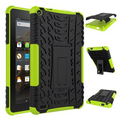 HD7 Heavy-duty Tablet Case Shockproof Protect Shell with Stand Holder Protector for Amazon Kindle Fire