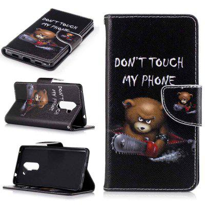 Bear Painted PU Phone Case for HUAWEI Honor 6X