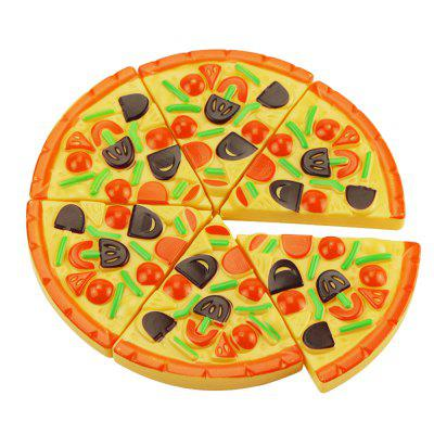 15PCS Plastic Food Pizza Kitchen Pretend Play Toy for KidsPretend Play<br>15PCS Plastic Food Pizza Kitchen Pretend Play Toy for Kids<br><br>Age: 3~5 Years,6~9 Years,9~11 Years,3 Years+,About 3 years<br>Applicable gender: Boys,Girls,Unisex<br>Design Style: Cartoon<br>Features: Others<br>Gender: Boys,Girls,Unisex<br>Material: Plastic<br>Package Contents: 1 set of toys<br>Package size (L x W x H): 26.00 x 24.00 x 5.00 cm / 10.24 x 9.45 x 1.97 inches<br>Package weight: 0.1185 kg<br>Product size (L x W x H): 26.00 x 24.00 x 4.00 cm / 10.24 x 9.45 x 1.57 inches<br>Small Parts: Yes<br>Type: Kitchen Toys<br>Washing: No