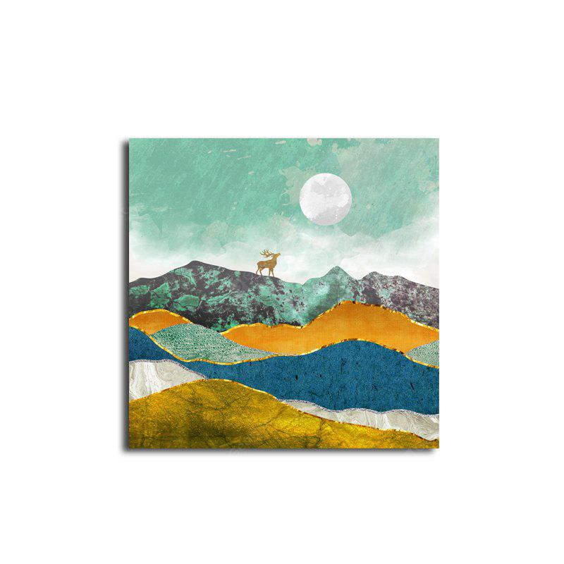 Abstract Unframed Art Canvas Print for Home Wall Decoration