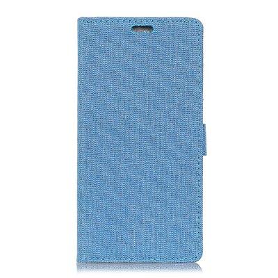 WkaeJeans Cloth Texture Leather Case for Huawei Y7 / Y7 Prime