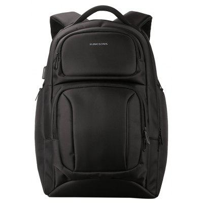 High-Capacity Usb Charging Interface Business Backpack