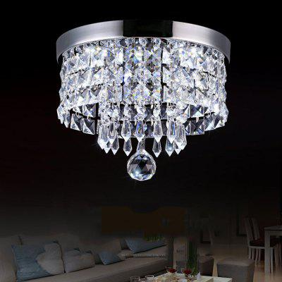 JUEJA 20W LED Ceiling Lamp Modern Crystal Lighting for Living Room / Dining / Bedroom / Hallway / Balcony 85 - 265V