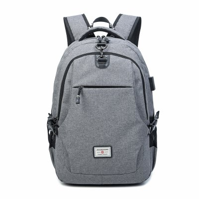Korean Style Men's Backpack Anti-Theft  Computer Travel Bag