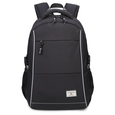 Men's Fashion Waterproof Backpack with Usb Charging Cable Travel Bags