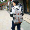 Korean Style Fashion Waterproof Backpack Outdoor Sport Travel Bag - GRAY