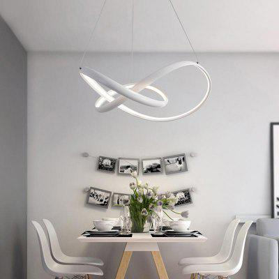 Modern Nature White  LED Pendant Light Chandelier Ceiling Lighting Fixture for Living  Kitchen Kids Bedrooms Dining RoomPendant Light<br>Modern Nature White  LED Pendant Light Chandelier Ceiling Lighting Fixture for Living  Kitchen Kids Bedrooms Dining Room<br><br>Battery Included: Non-preloaded<br>Bulb Base: LED Integrated<br>Bulb Included: Yes<br>Bulb Type: LED<br>Chain / Cord Adjustable or Not: Chain / Cord Adjustable<br>Color Temperature or Wavelength: Warm White 3000K /Cold White 6000K<br>Decoration Material: Metal<br>Dimmable: No<br>Features: Multi-shade, Designers<br>Finish: Paint<br>Fixture Height ( CM ): 20<br>Fixture Length ( CM ): 50<br>Fixture Material: Acrylic<br>Fixture Width ( CM ): 50<br>Light Direction: Ambient Light<br>Light Source Color: Cold White,Warm White<br>Number of Bulb Sockets: 1<br>Number of Tiers: Single Tier<br>Package Contents: 1 x Lamp Body, 1 x Fittings Bag<br>Package size (L x W x H): 65.00 x 65.00 x 29.00 cm / 25.59 x 25.59 x 11.42 inches<br>Package weight: 3.3000 kg<br>Product size (L x W x H): 50.00 x 50.00 x 20.00 cm / 19.69 x 19.69 x 7.87 inches<br>Product weight: 2.9000 kg<br>Remote Control Supported: No<br>Shade Material: Acrylic<br>Stepless Dimming: No<br>Style: Simple Style, Artistic Style, Chic &amp; Modern<br>Suggested Room Size: 10 - 15?<br>Suggested Space Fit: Bedroom,Cafes,Dining Room,Kids Room,Living Room,Office,Study Room<br>Type: Ceiling Light<br>Voltage ( V ): 220V - 240V,AC110 - 120V<br>Wattage (W): 42W