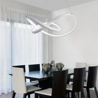 Modern Nature White  LED Pendant Light Chandelier Ceiling Lighting Fixture for Living  Kitchen Kids Bedrooms Dining Room