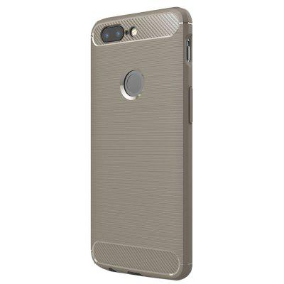 TPU Brushed Finish Soft Phone Case for One Plus 5T