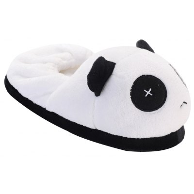 Cute Panda  Winter Home Slippers with High Quality Coral Velvet Upper