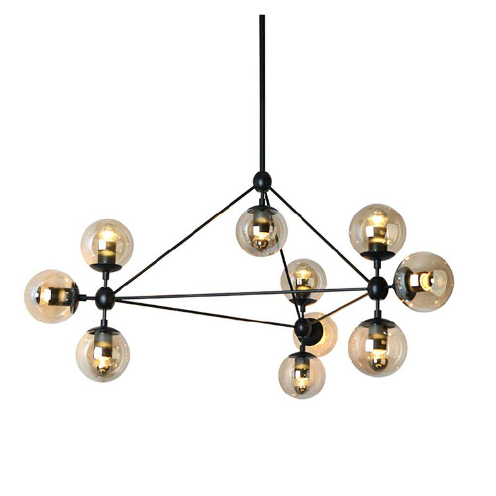 Modern chandelier light 10 lights modo ceiling light for living bed room