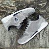Men'S Breathable Casual Running Shoes - GRAY 1