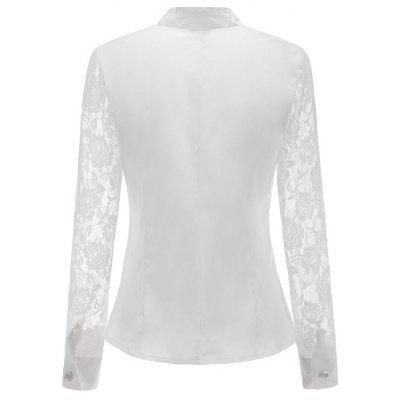 Kala Ladies Office Clubbing Top Chiffon Victorian Shirt Lace Women BlouseBlouses<br>Kala Ladies Office Clubbing Top Chiffon Victorian Shirt Lace Women Blouse<br><br>Collar: Turtleneck<br>Elasticity: Micro-elastic<br>Embellishment: Ruffles<br>Fabric Type: Chiffon<br>Material: Chiffon<br>Package Contents: 1  x  Blouse<br>Pattern Type: Solid<br>Shirt Length: Regular<br>Sleeve Length: Full<br>Style: Sexy<br>Weight: 0.2000kg