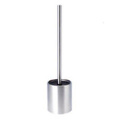 Stainless Steel  Toilet Bowl Brush Bathroom Cleaning Tool Holder With Base
