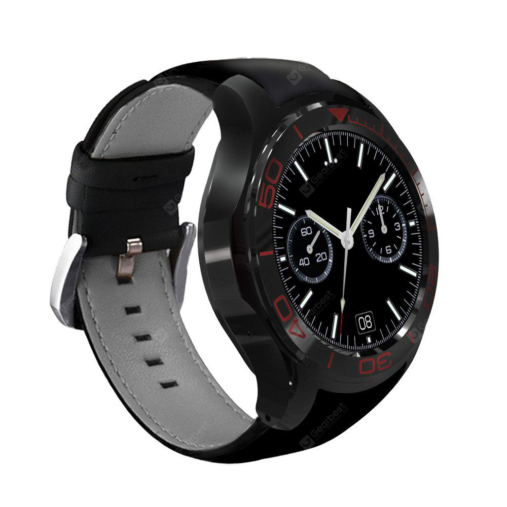 S1PLUS MTK6580 Switch Theme 3G GPS BT4.0 For Android / IOS 2MILLION Camera Heart Rate Monitor Fitness 512M 8G Smartwatch