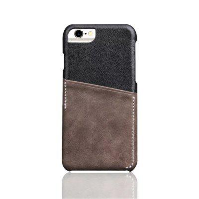 For iPhone 8 / 7 / 6 / 6S  Luxury Leather with Card Mobile Phone Shell  Fitted Case