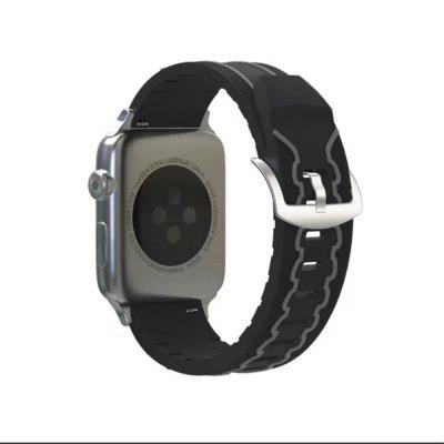 Buy Soft Silicone Sport Strap Replacement Wristband Watch Bands for 38mm iWatch Series 3 / 2 / 1, DARK GREY, Consumer Electronics, Smart Watch Accessories for $7.06 in GearBest store