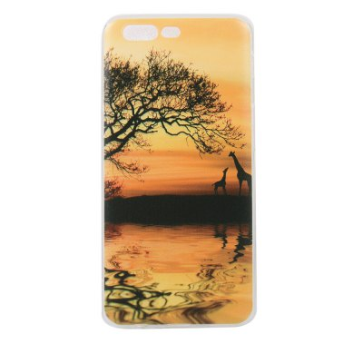 Color Pattern Soft TPU Back Phone Case for One Plus 5