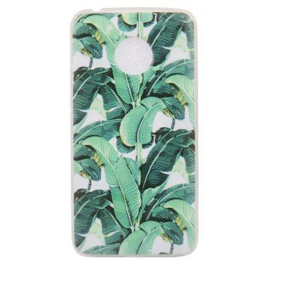 Color Pattern Soft TPU Back Phone Case for Moto G5