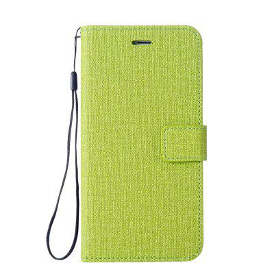 Cotton Pattern Leather Case for Sony E5