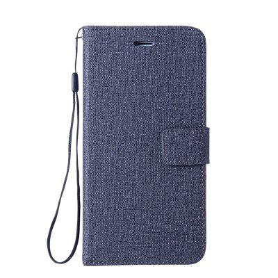 Cotton Pattern Leather Case for Sony Xiaomi Redmi 3S