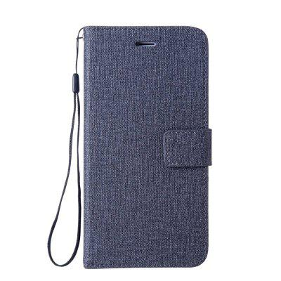 Cotton Pattern Leather Case for Sony Xiaomi Redmi 4X