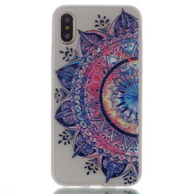 National Wind Luminous Ultra Thin Slim Soft TPU Silicone Case for iPhone X