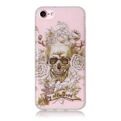 Skeleton Luminous Ultra Thin Slim Soft TPU Silicone Case for iPhone 7 / 8