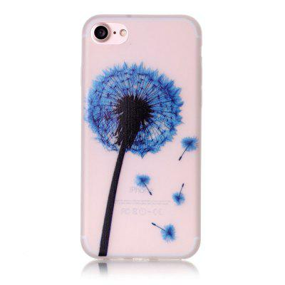 Blue Dandelion Luminous Ultra Thin Slim Soft TPU Silicone Case for iPhone 7 / 8