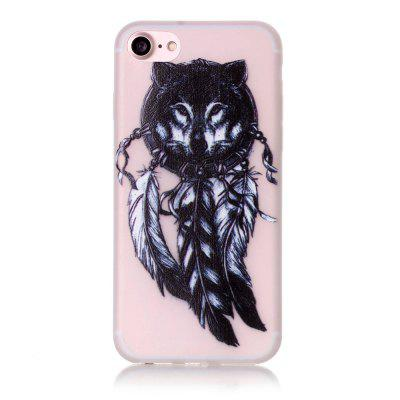 Wolf Luminous Ultra Thin Slim Soft TPU Silicone Case for iPhone 7 / 8