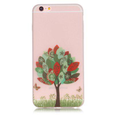 Butterfly Tree Luminous Ultra Thin Slim Soft TPU Silicone Case for iPhone 7 / 8
