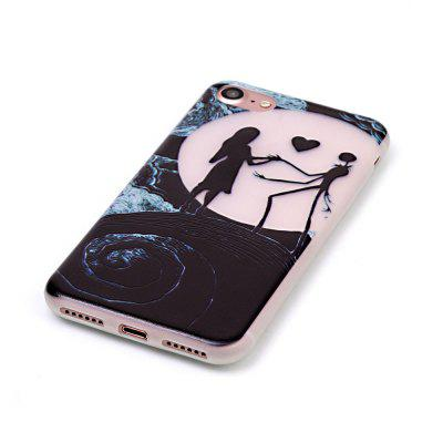 Moon Lovers Luminous Ultra Thin Slim Soft TPU Silicone Case for iPhone 7 / 8