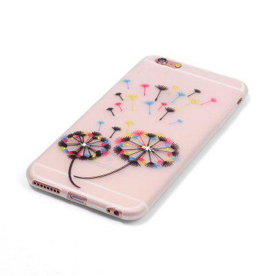 Colorful Dandelion Luminous Ultra Thin Slim Soft TPU Silicone Case for iPhone 6 / 6s