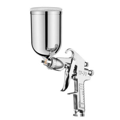 Professional Furniture Paint Spray Gun Airbrush Sprayer Alloy Painting Atomizer Tool with 400ML Hopper for Cars