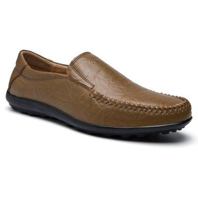 Men'S Business Casual Leather Shoes Peas Shoes