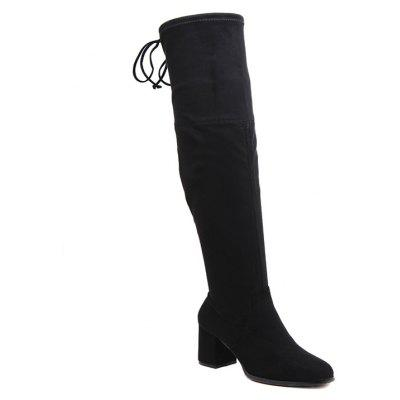 Women's Tall Thighhigh Boots with Thin Stretch