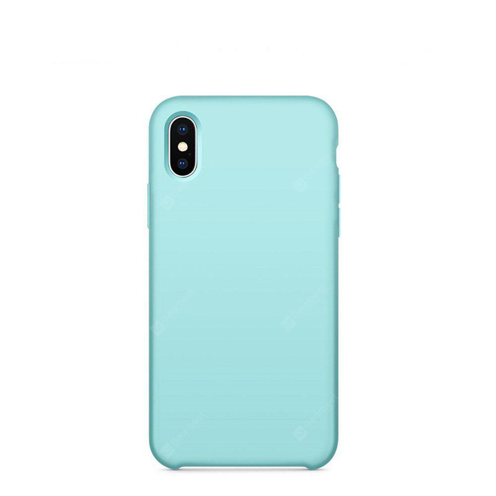 Liquid Silicone Mobile Phone Protector Sleeve Case para iphone X