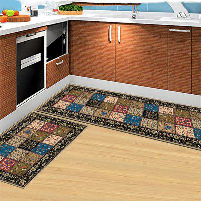 Bath Floor Mat Vintage Style Grid Pattern Hand Machine Washable DoormatCarpets &amp; Rugs<br>Bath Floor Mat Vintage Style Grid Pattern Hand Machine Washable Doormat<br><br>Material: Chinlon, PP (Polypropylene)<br>Package Contents: 1 x Carpet<br>Package size (L x W x H): 40.00 x 45.00 x 13.00 cm / 15.75 x 17.72 x 5.12 inches<br>Package weight: 2.8000 kg<br>Product size (L x W x H): 140.00 x 200.00 x 2.00 cm / 55.12 x 78.74 x 0.79 inches<br>Shape: Rectangle<br>Suitable Place: Babys Room,Balcony,Bathroom,Bedroom,Dining Room,Game Room,Garden,Kids Room,Kitchen Room,Living Room,Office,Outdoor,Study Room<br>Type: Contemporary, European, Modern / Comtemporary