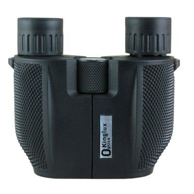 Kinglux Optics BAK4 Fully Multi Coated Compact 10x25mm Binocular with Wide Field of Angle